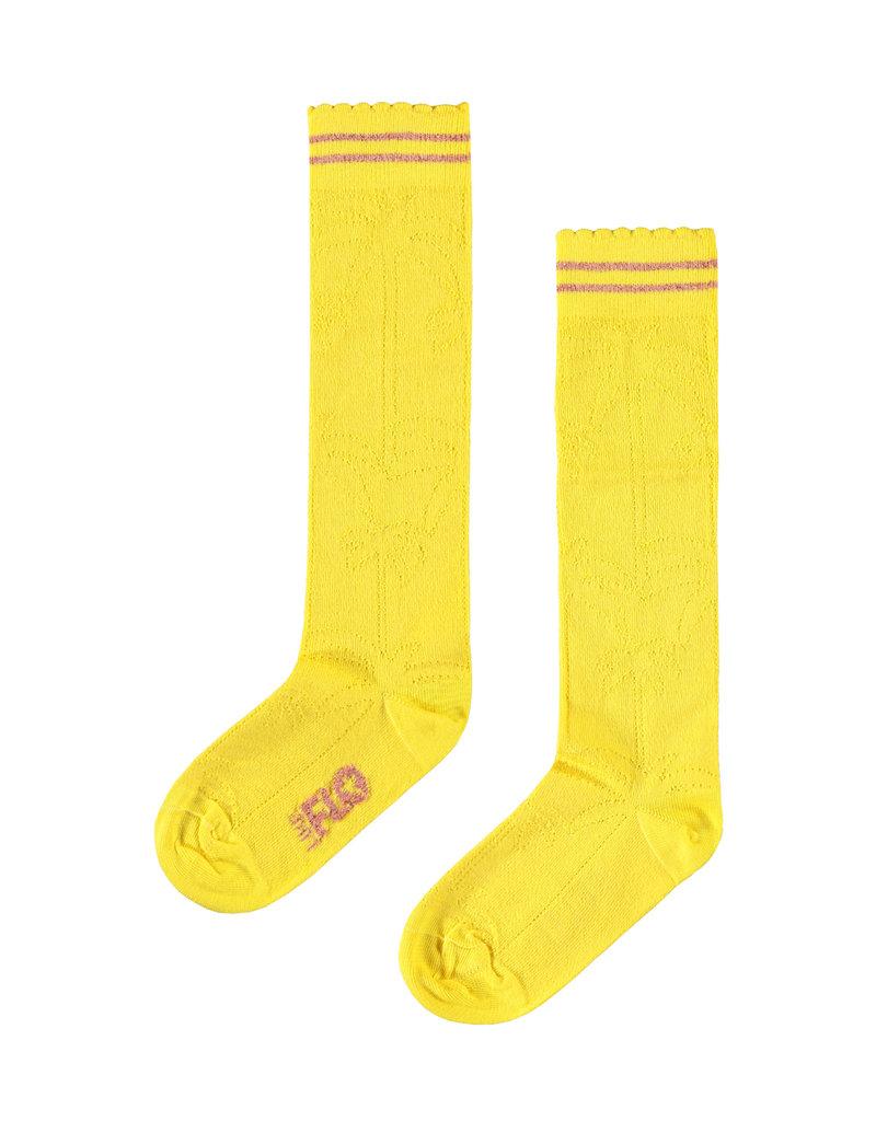Like Flo Flo girls ajour sock yellow