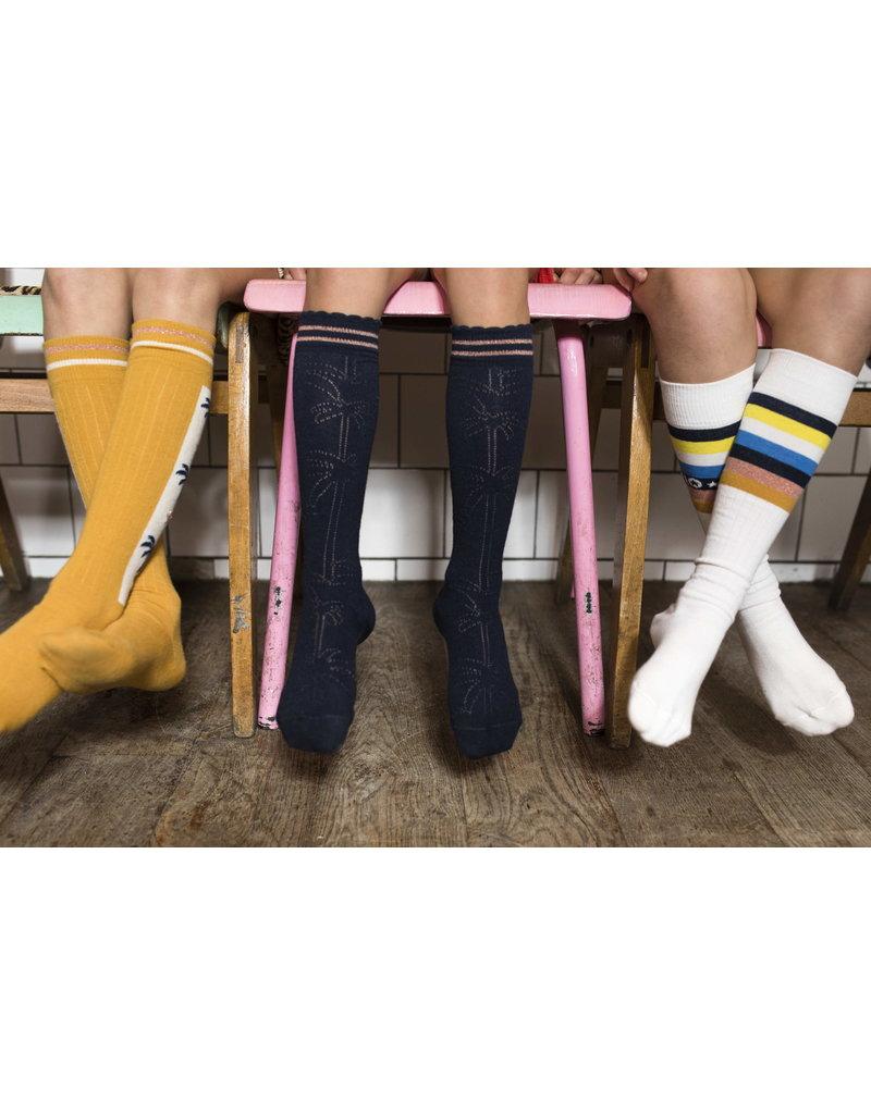 Like Flo Flo girls ajour sock navy