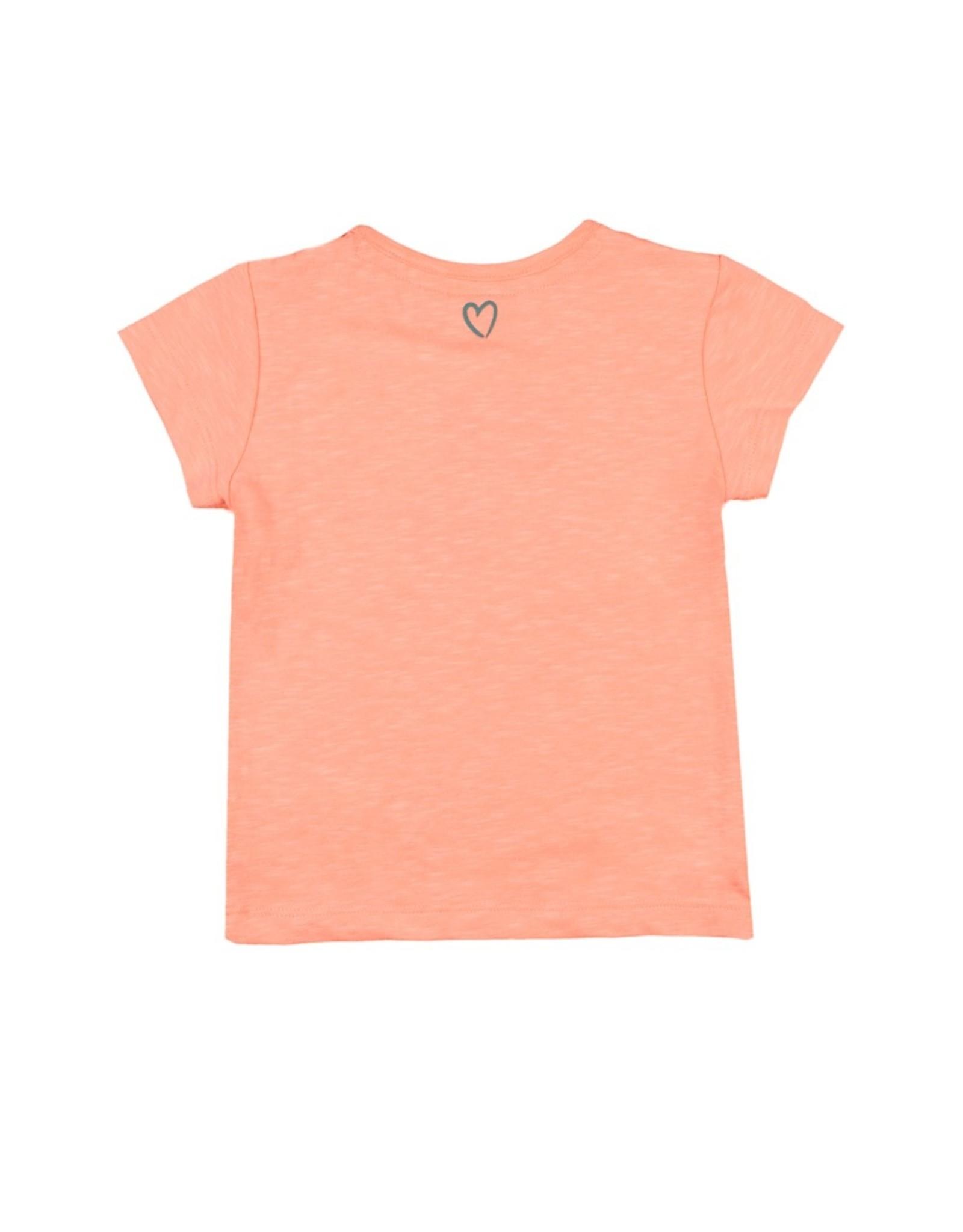 Feetje T-shirt Fiesta Siesta - Botanic Blush maat 68