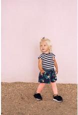 Feetje Jurk streep / AOP - Botanic Blush