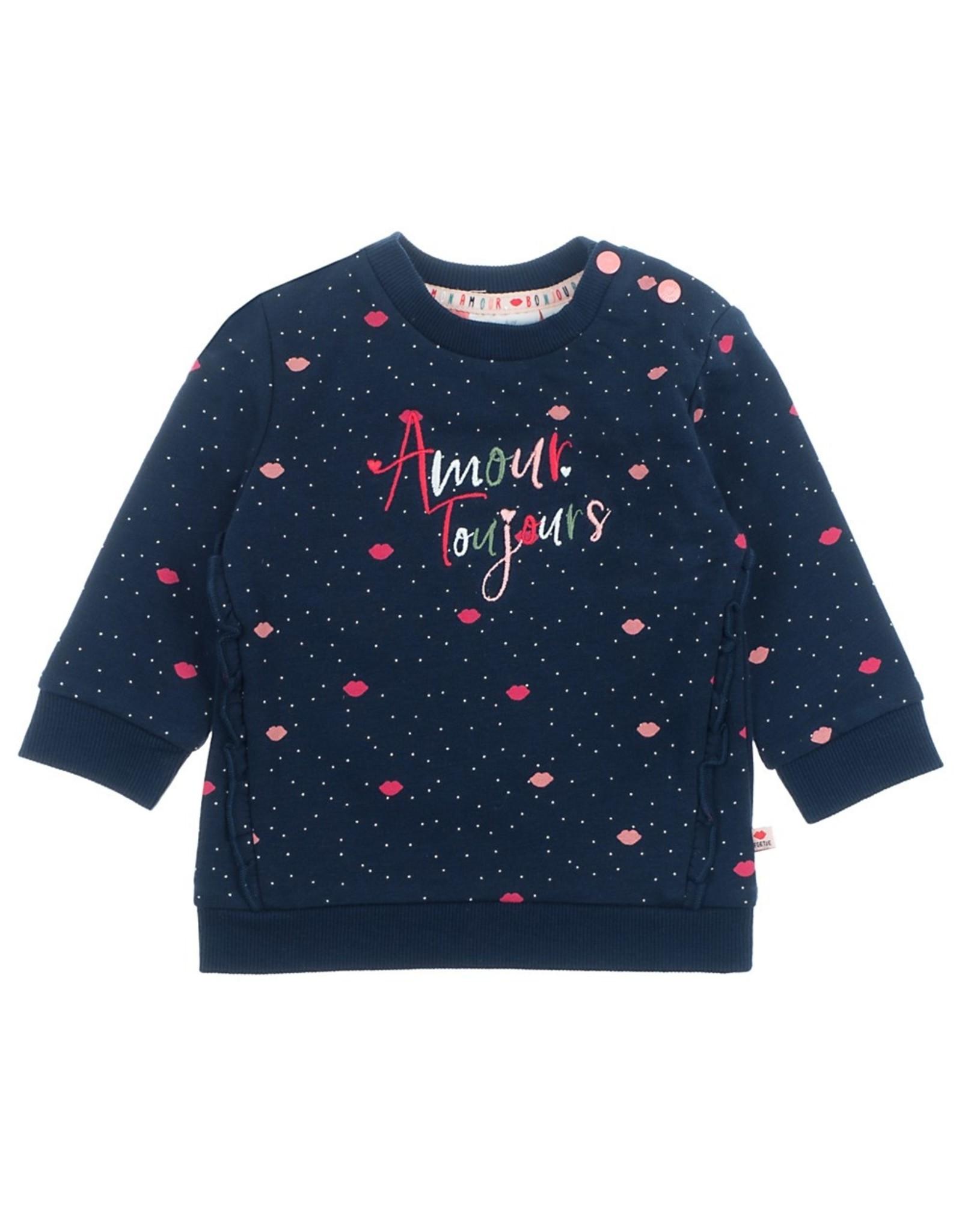 Feetje Sweater Amour - Mon Petit