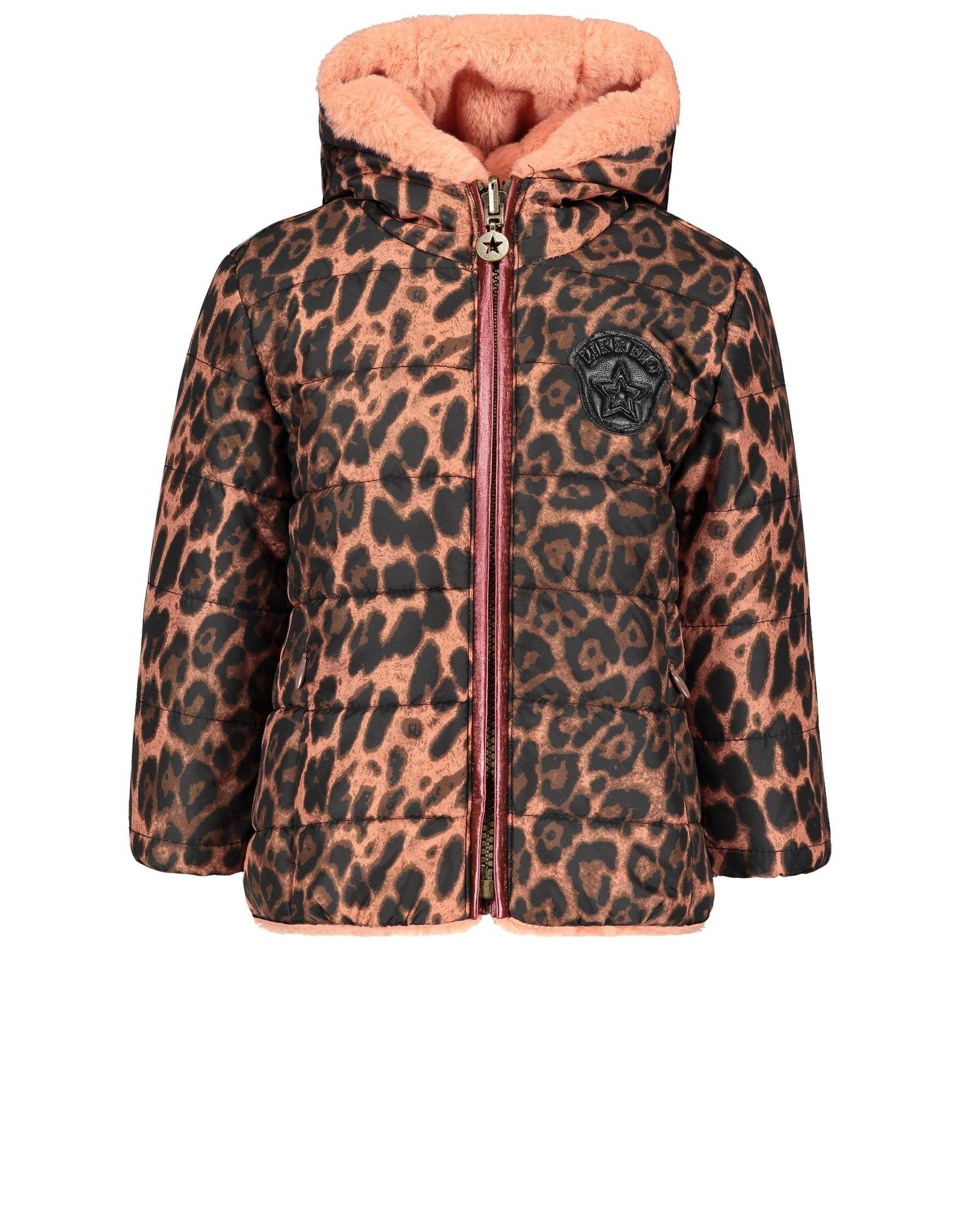 Like Flo Flo baby girls reversible hooded jacket