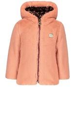 Like Flo Flo baby girls reversible hooded jacket maat 92