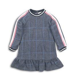 Koko Noko Dress blue check