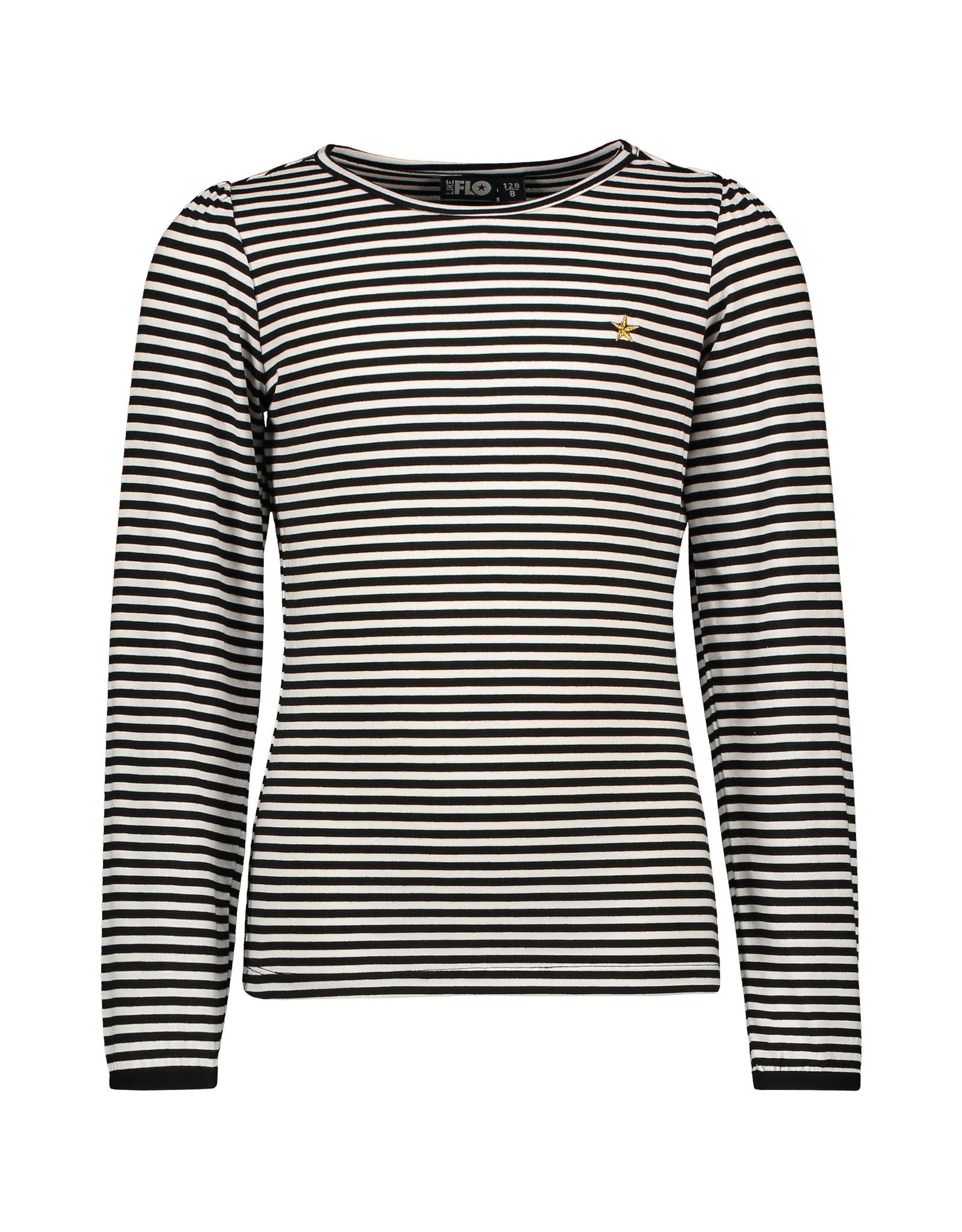 Like Flo Flo girls yd jersey ls tee stripe