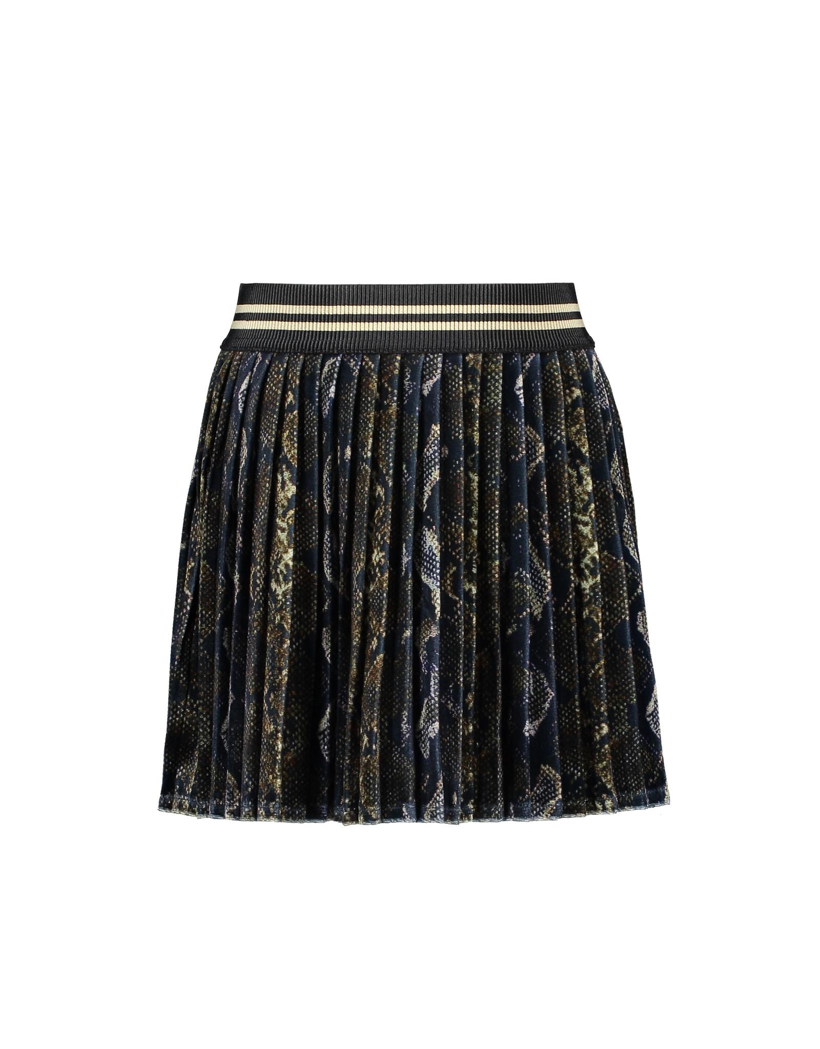 Like Flo Flo girls AO velvet plisse skirt