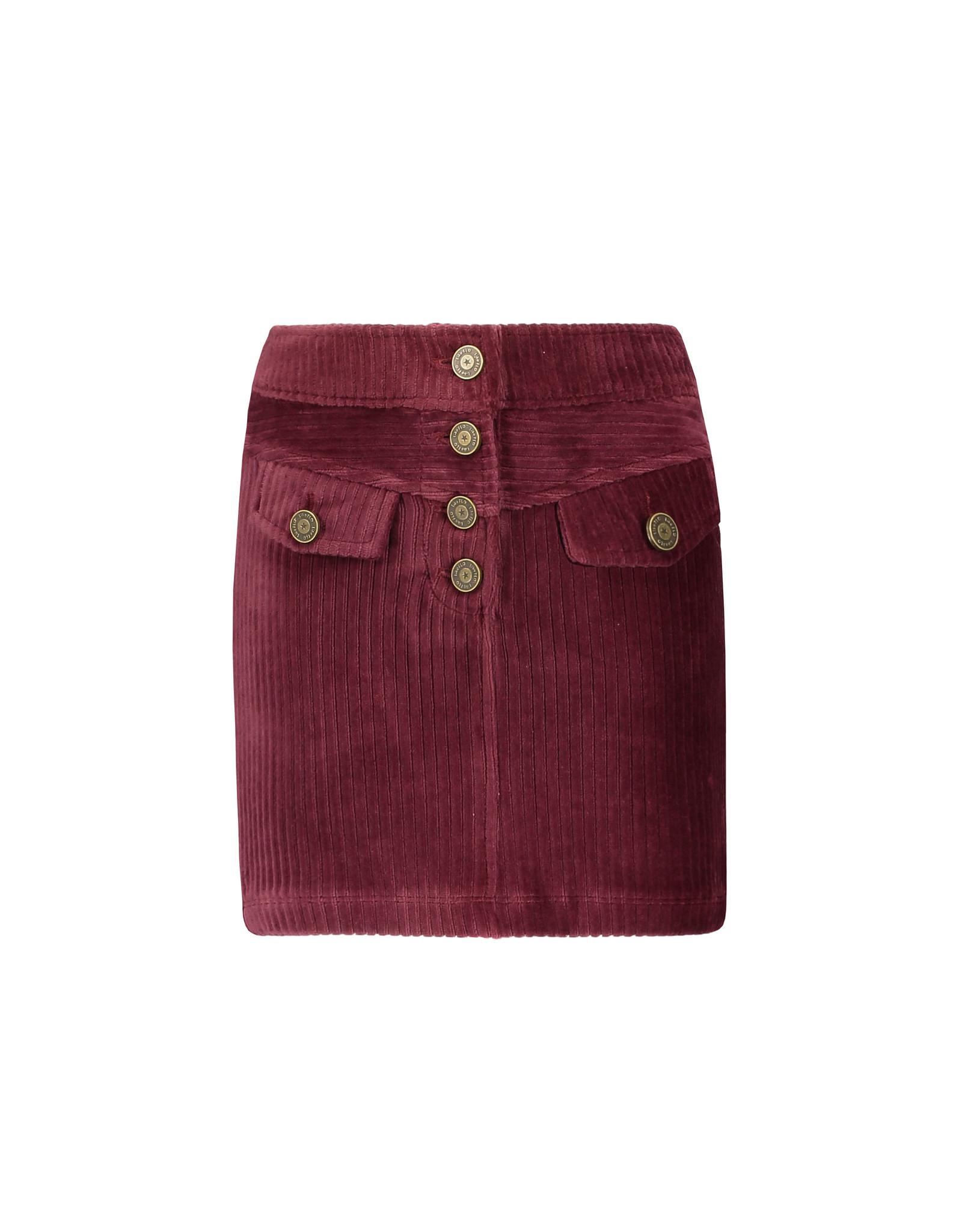 Like Flo Flo girls rib velvet skirt