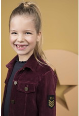 Like Flo Flo girls rib velvet cardigan