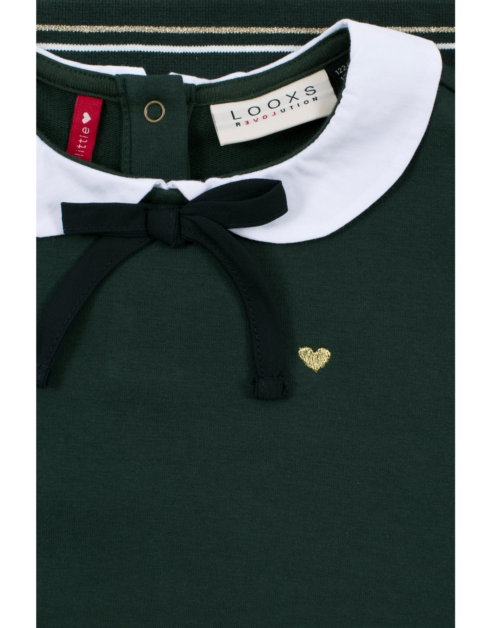 Looxs Little Little collar sweater forrest