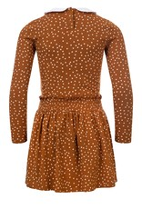 Looxs Little Little dress l.sleeve caramel