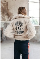 Looxs 10SIXTEEN Girls Bomber teddy jacket D