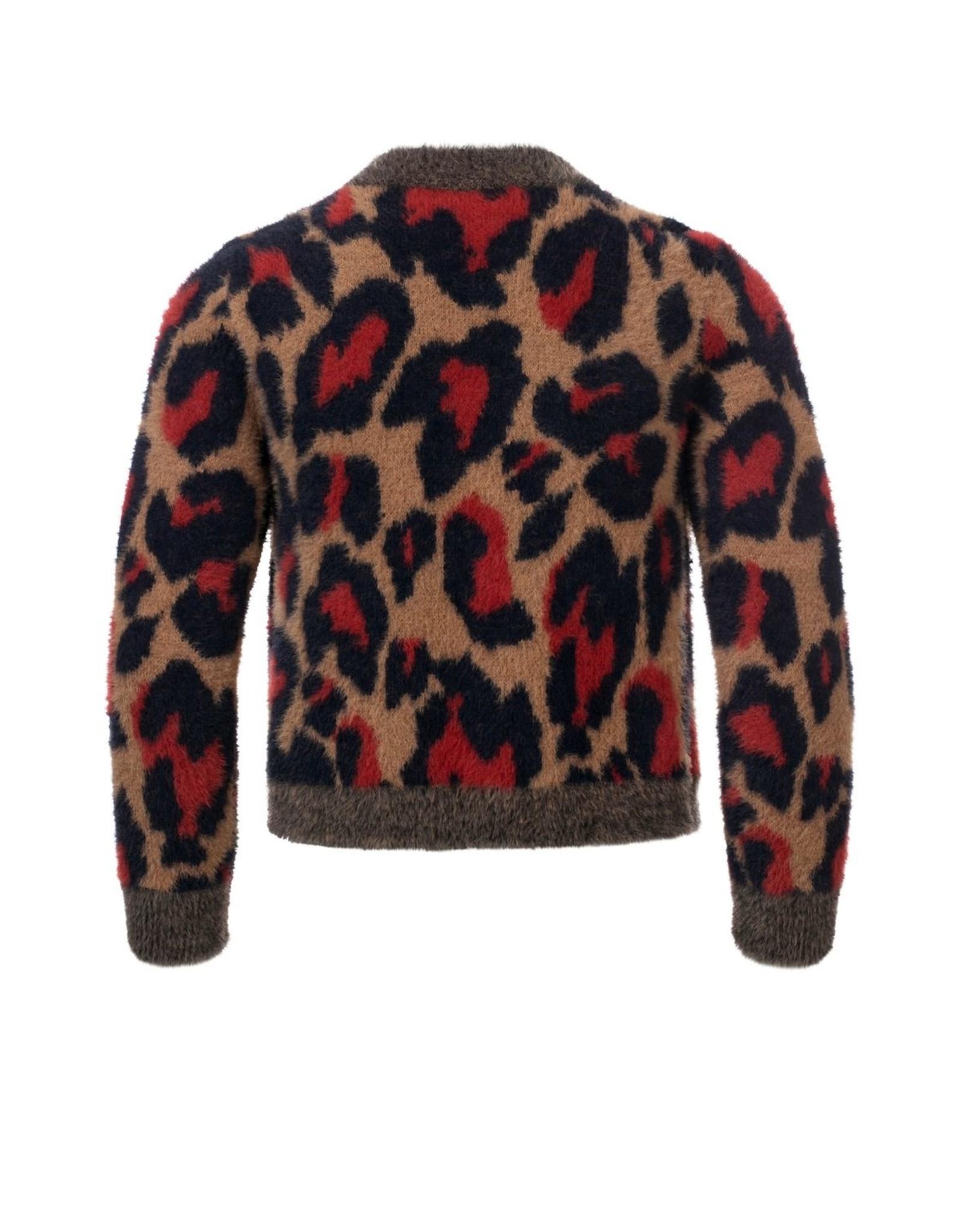 Looxs 10SIXTEEN Girls knitted cardigan maat 128