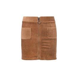 Looxs 10SIXTEEN Girls velvet rib skirt c