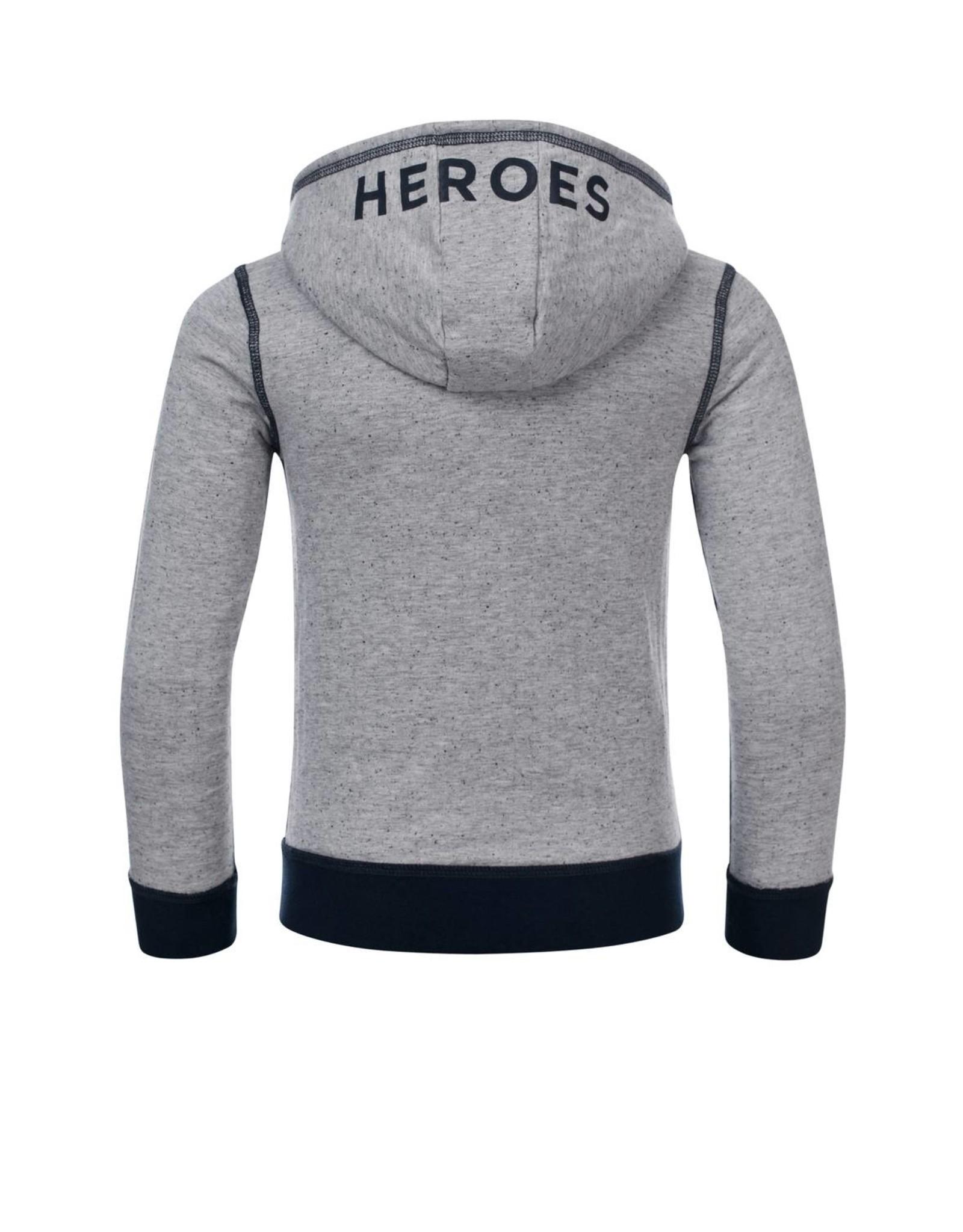 Common Heroes FLIP reversable bonded hooded sweat