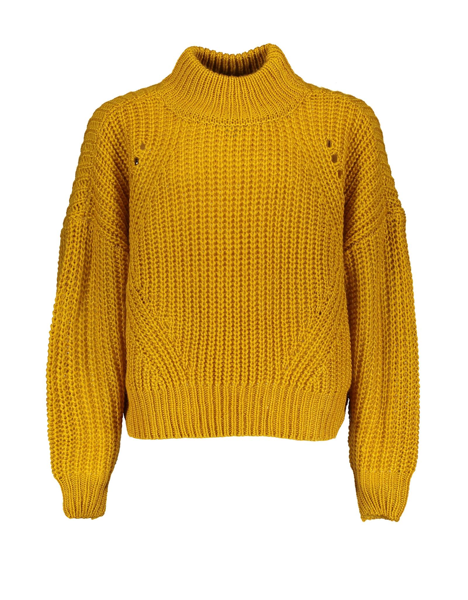 Street Called Madison Luna heavy knit sweater BRIGHT