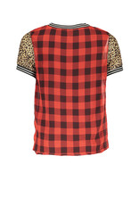 Street Called Madison Luna woven check top