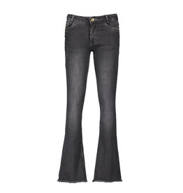 Street Called Madison Luna denim flare pants MISS LUNA BELL