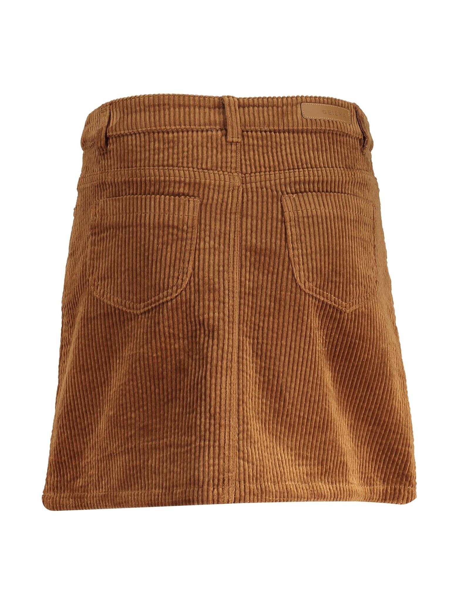 Geisha Skirt ribcord buttons
