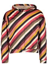 Like Flo Flo girls velvet hooded sweater