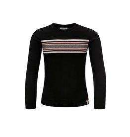 Looxs 10SIXTEEN Girls T-shirt l/s black maat 128