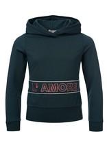 Looxs 10SIXTEEN Girls hoody sweater lagoon