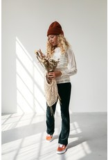 Looxs 10SIXTEEN Girls lace top chalk maat 164