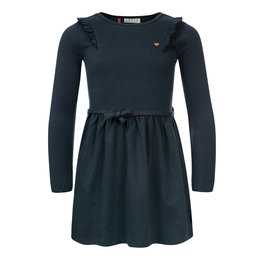 Looxs Little Little dress l.sleeve teal