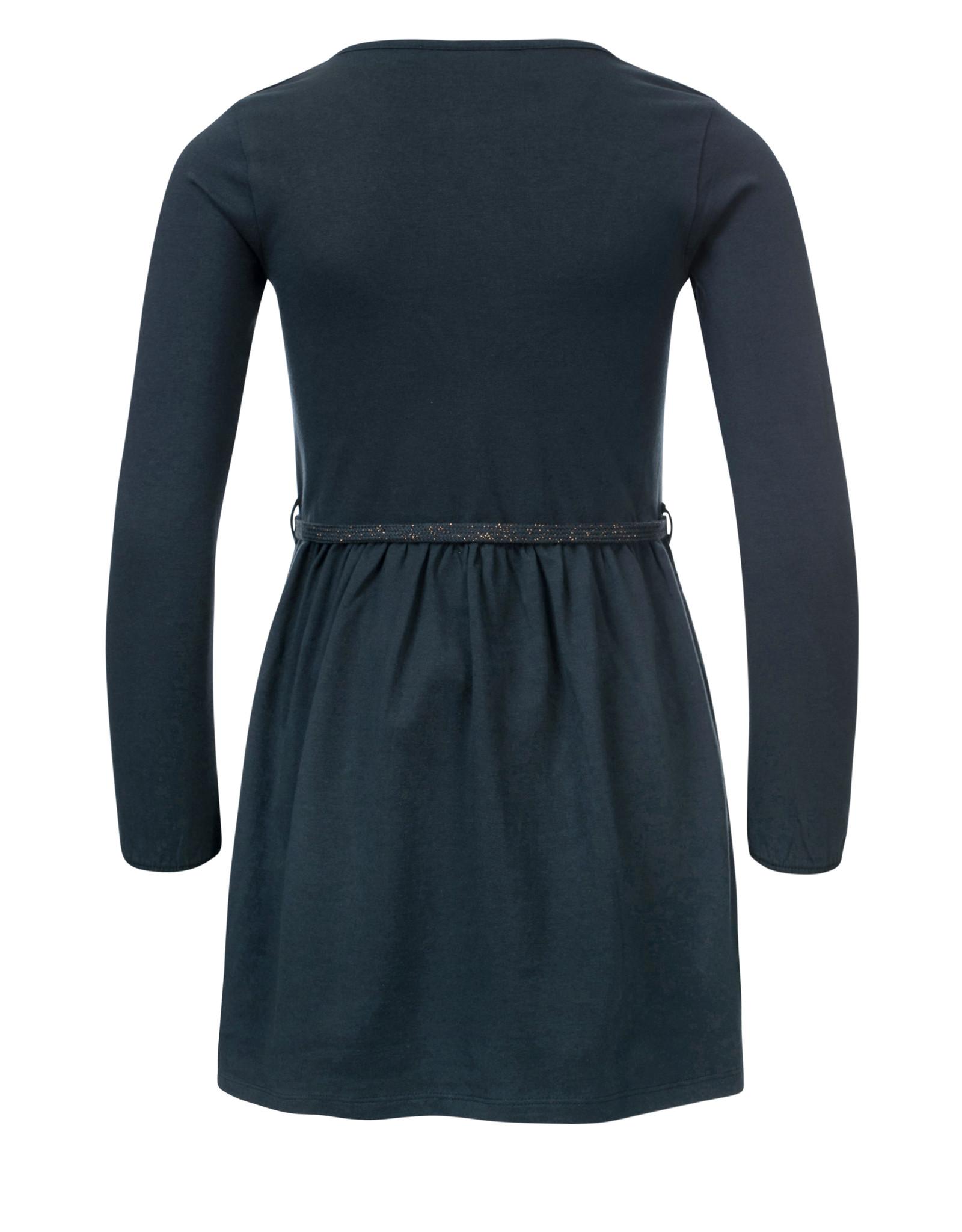 Looxs Little Little dress l.sleeve teal