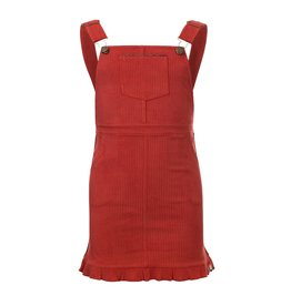 Looxs Little Little salopette dress ginger maat 104