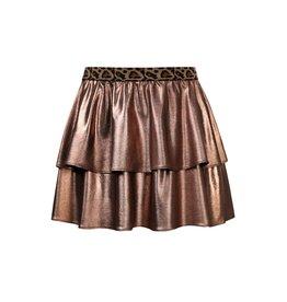 Looxs Little Little metallic skirt bronze