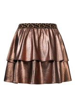 Looxs Little Little metallic skirt bronze
