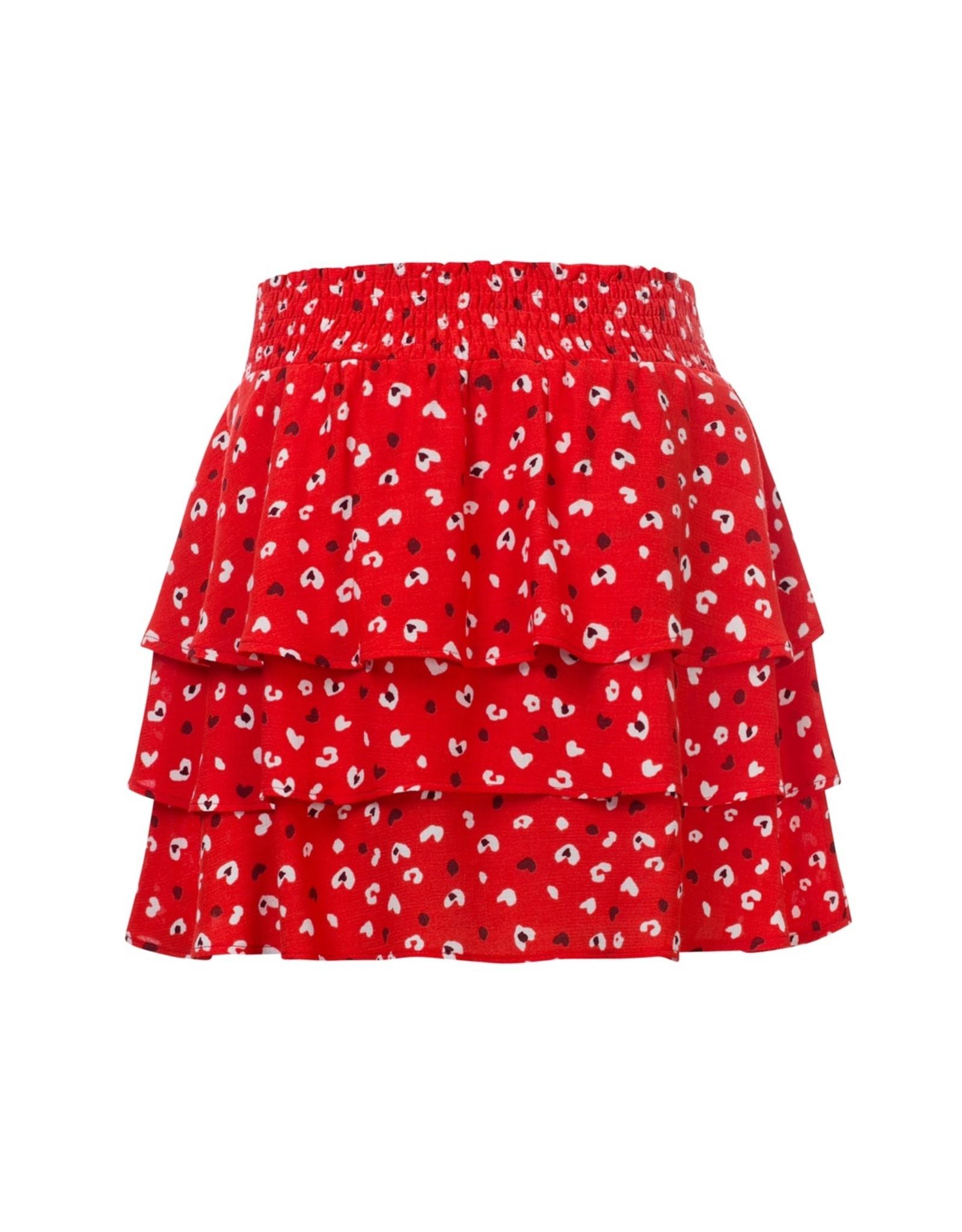 Looxs Little Little skirt fire maat 110
