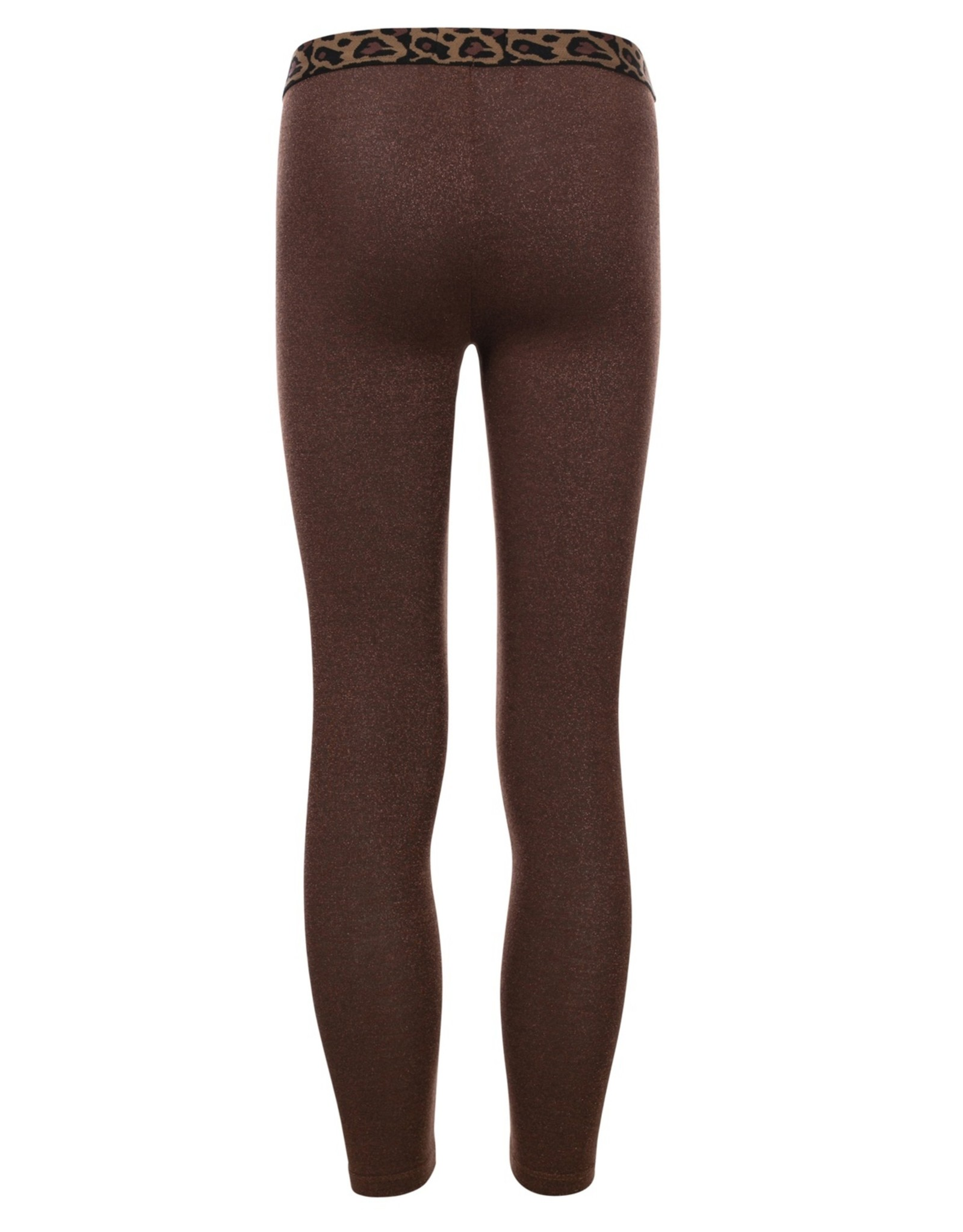 Looxs Little Little metallic legging bronze