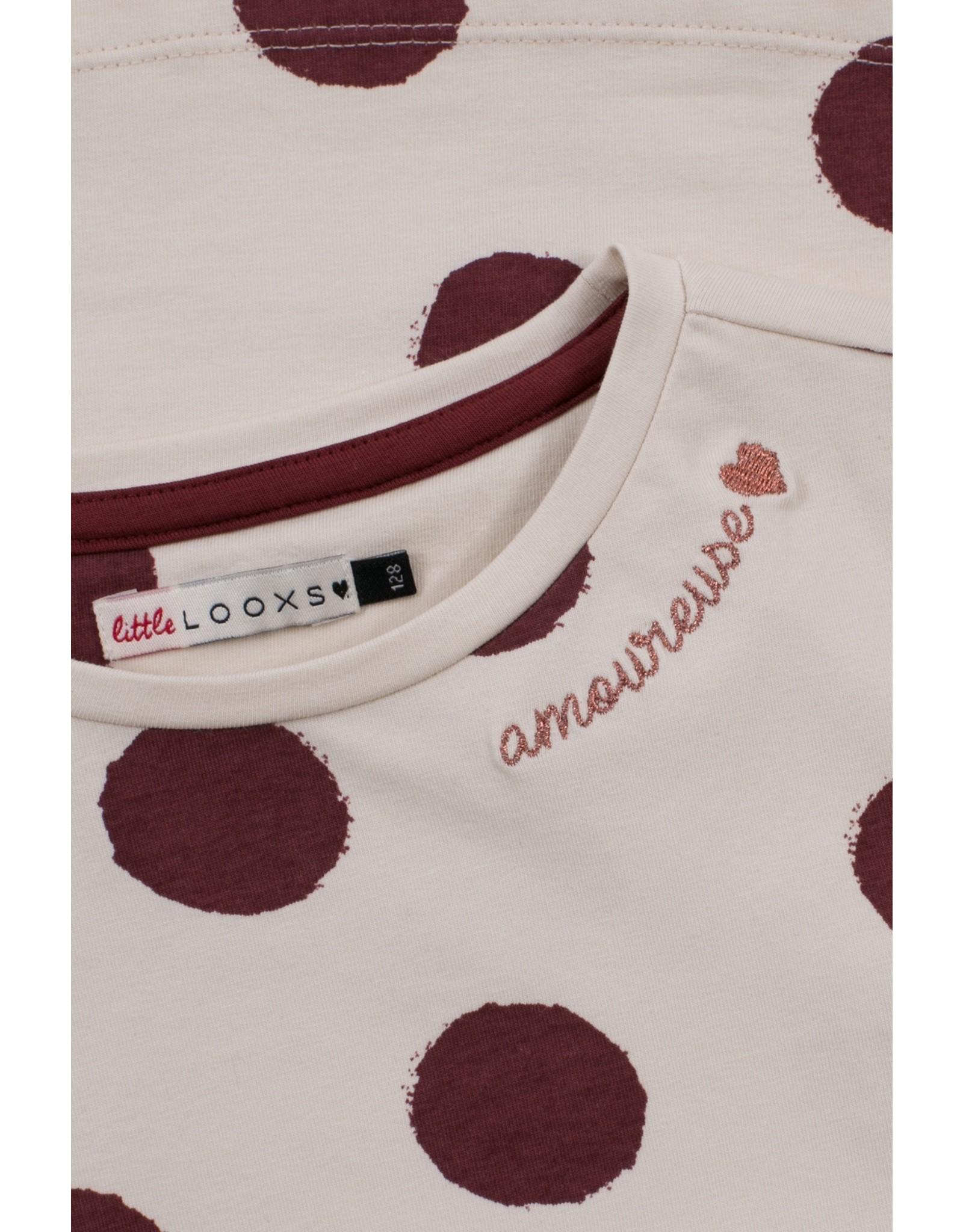 Looxs Little Little t-shirt l. sleeve chalk