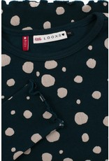 Looxs Little Little rib  t-shirt l. sleeve teal