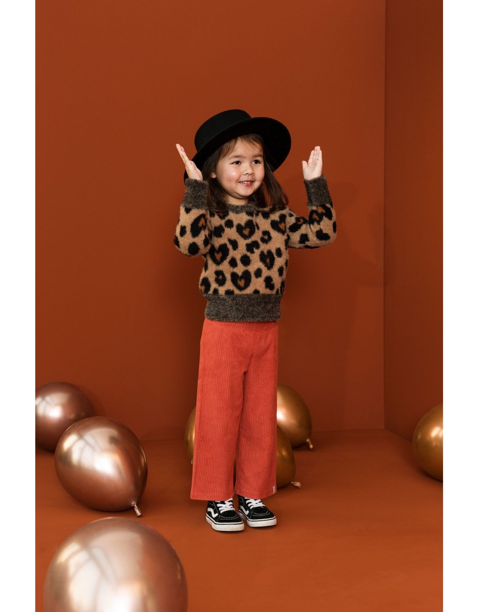 Looxs Little Little pullover camel maat 98