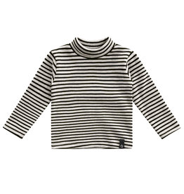 Your Wishes Beige - Stripes | Turtleneck
