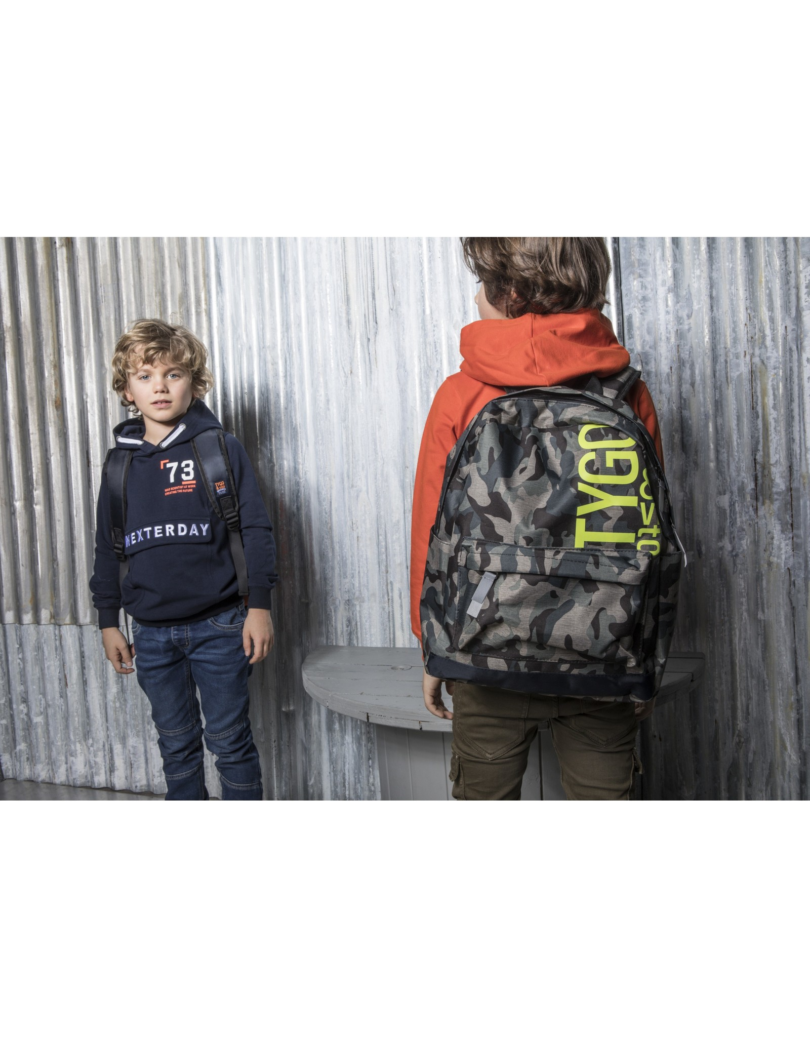 Tygo & Vito T&v hoodie fake anorak