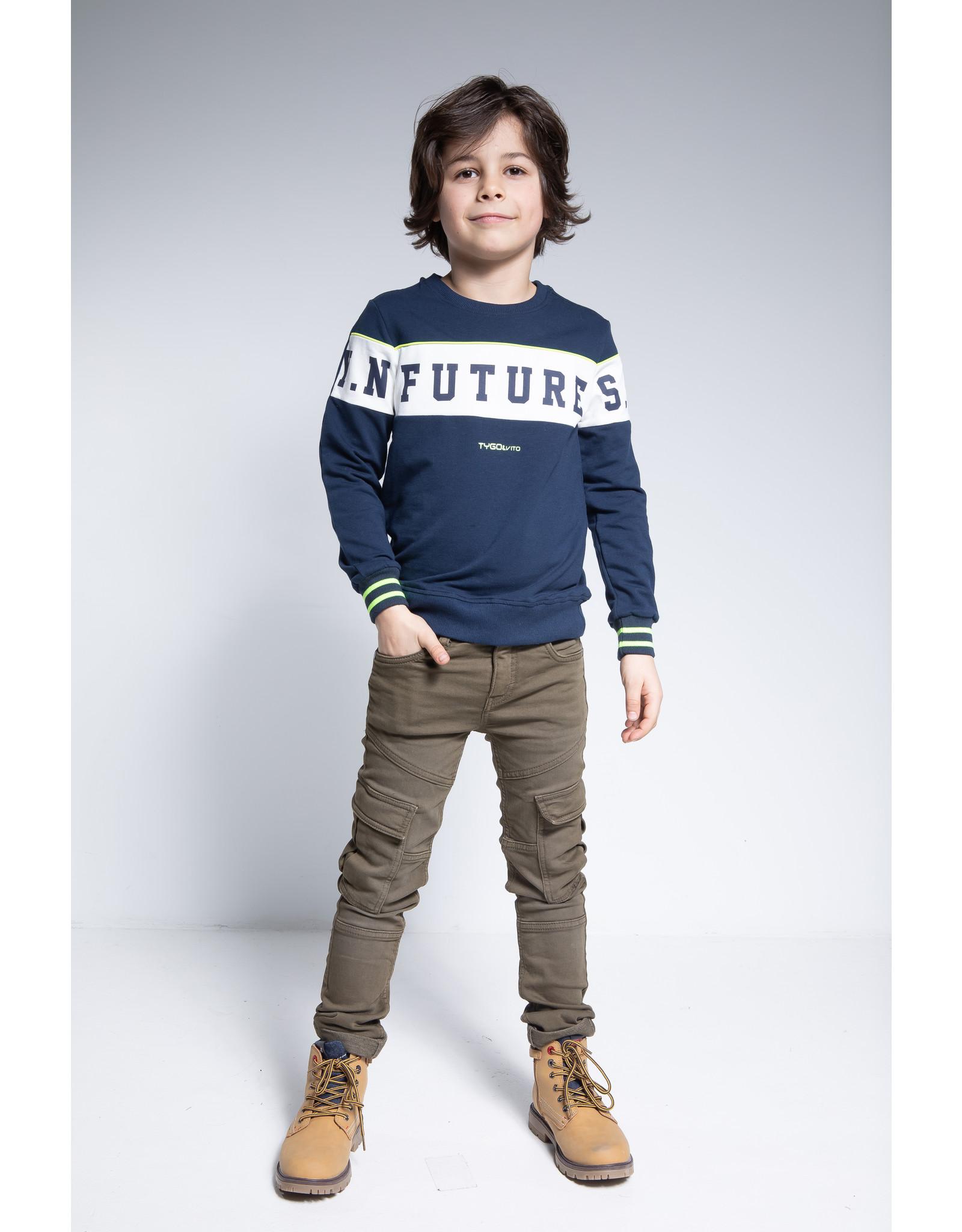 Tygo & Vito T&v sweater FUTURE maat 92