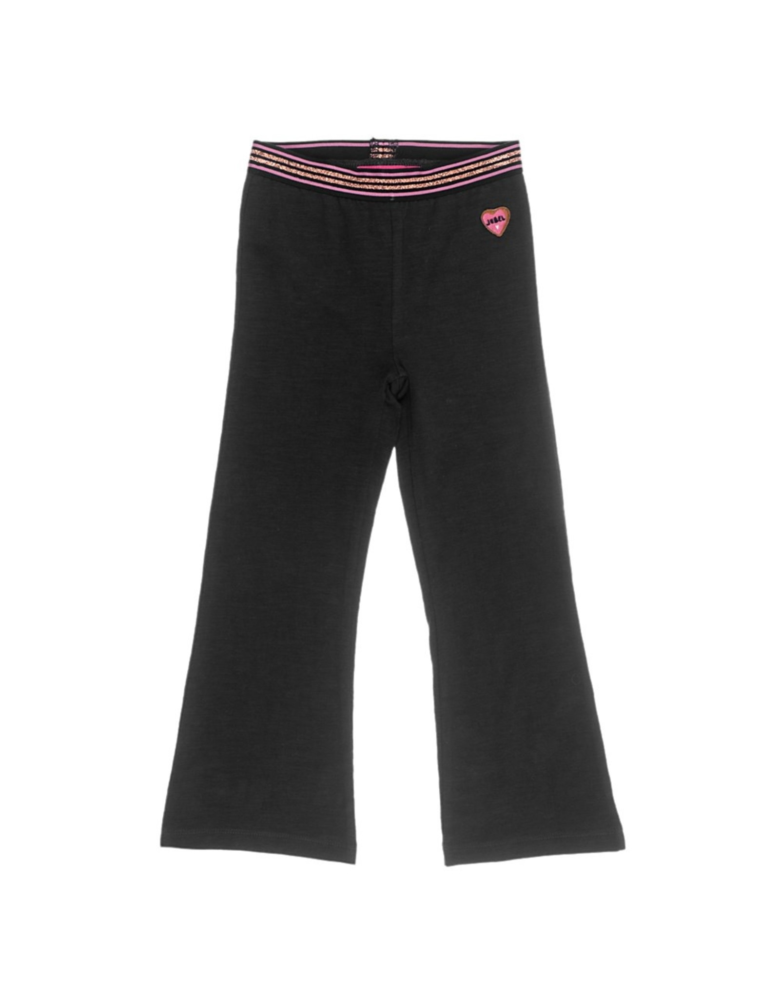 Jubel Flared broek - Animal Attitude zwart