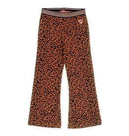 Jubel Flared broek - Animal Attitude bruin