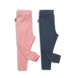 Koko Noko Legging 2 pack pink navy