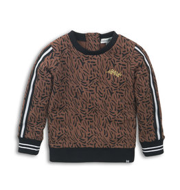 Koko Noko Sweater brown aop
