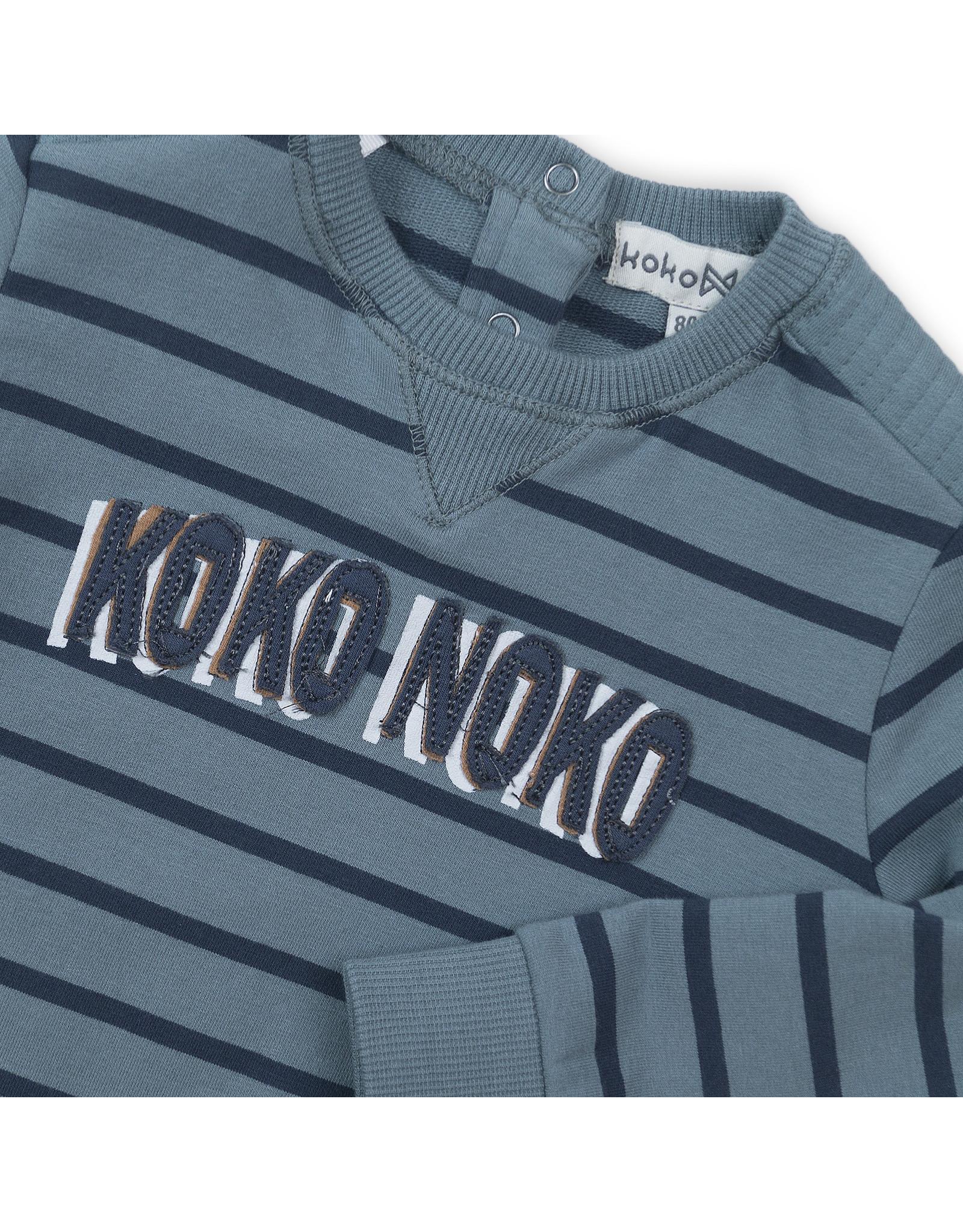 Koko Noko Sweater teal green