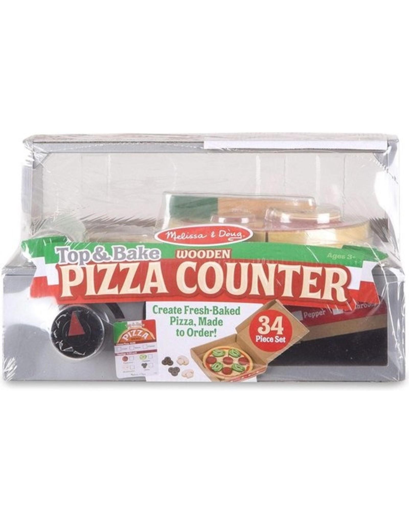 Melissa & Doug Pizza counter