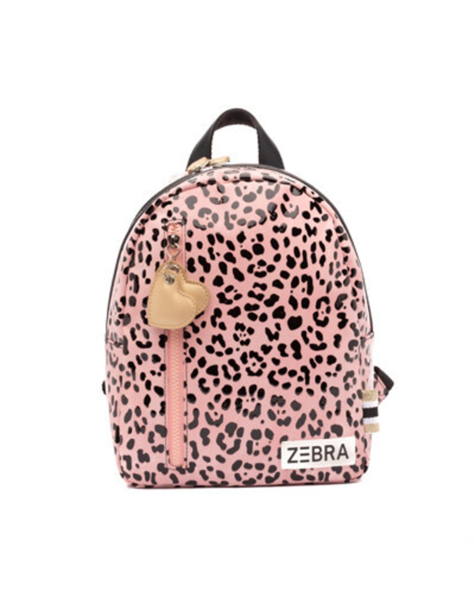 Zebra Rugzak Pink spot maat S