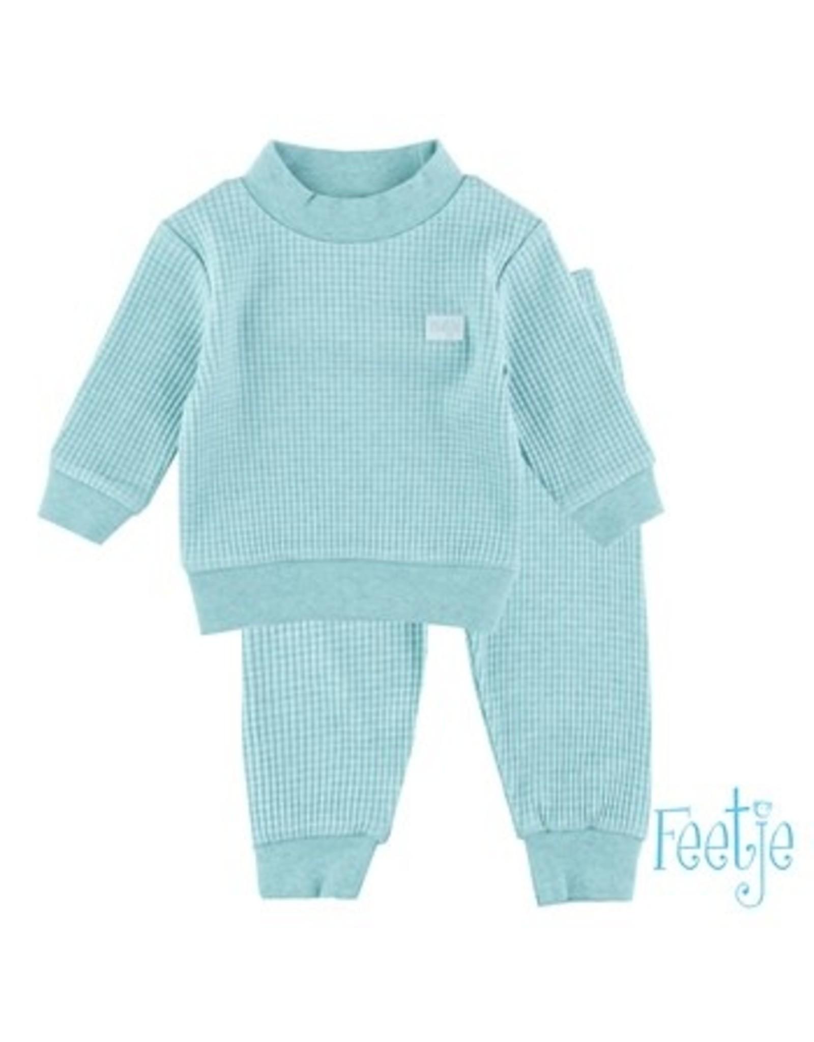 Feetje Pyjama Groen baby