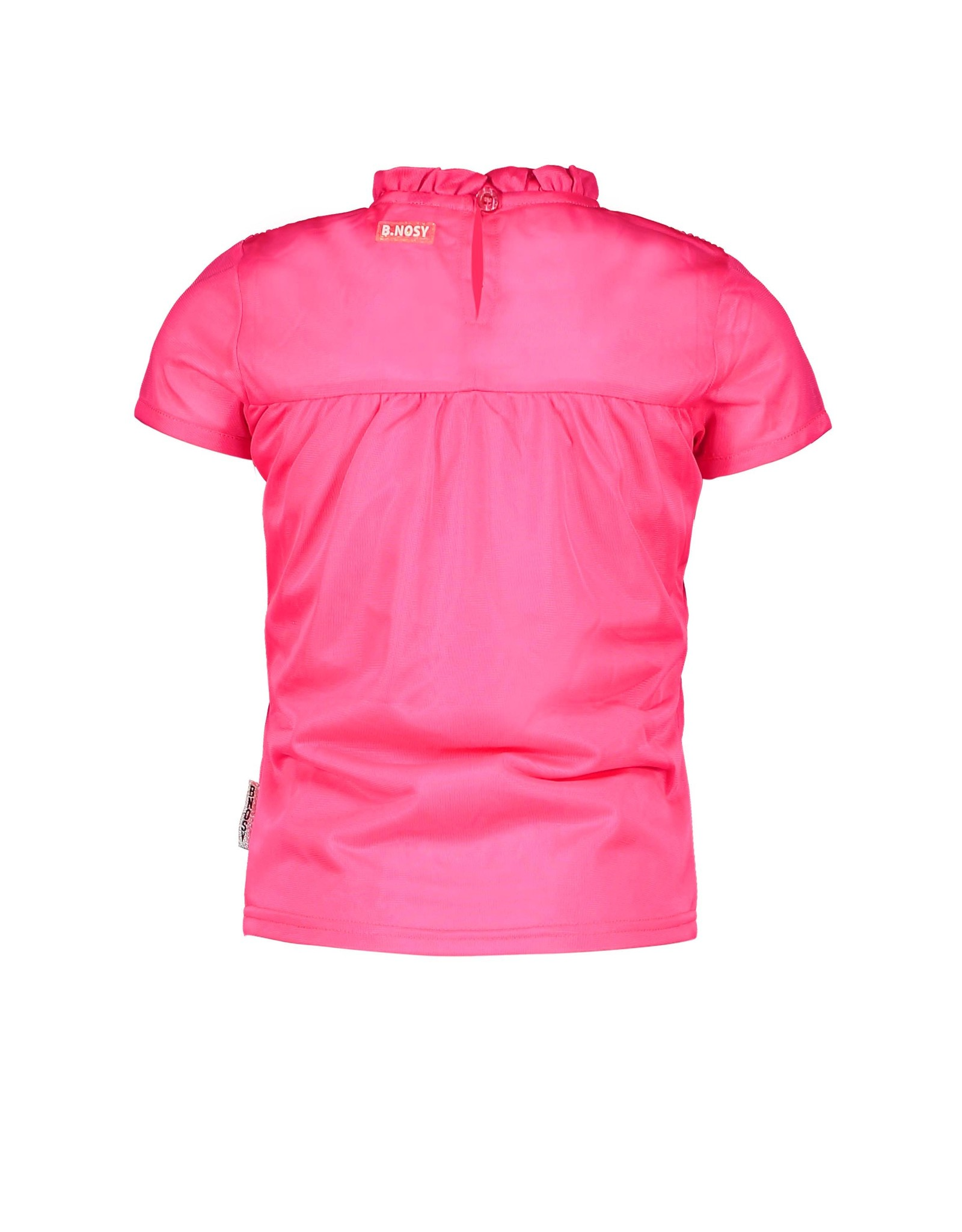 B.Nosy Girls ss polyester top with smock part
