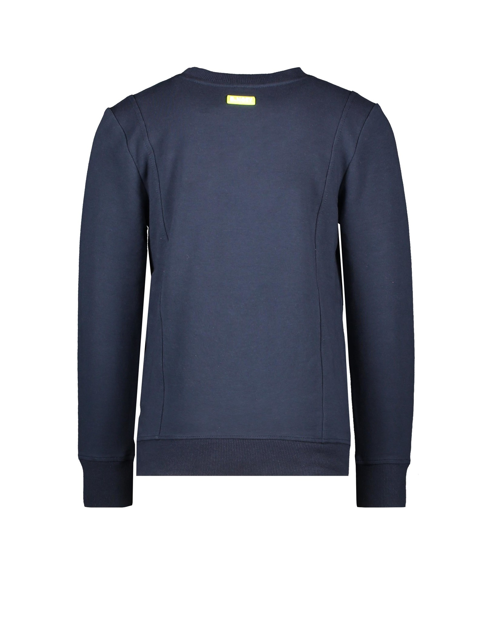 B.Nosy Boys sweater with fake pocket, side pockets