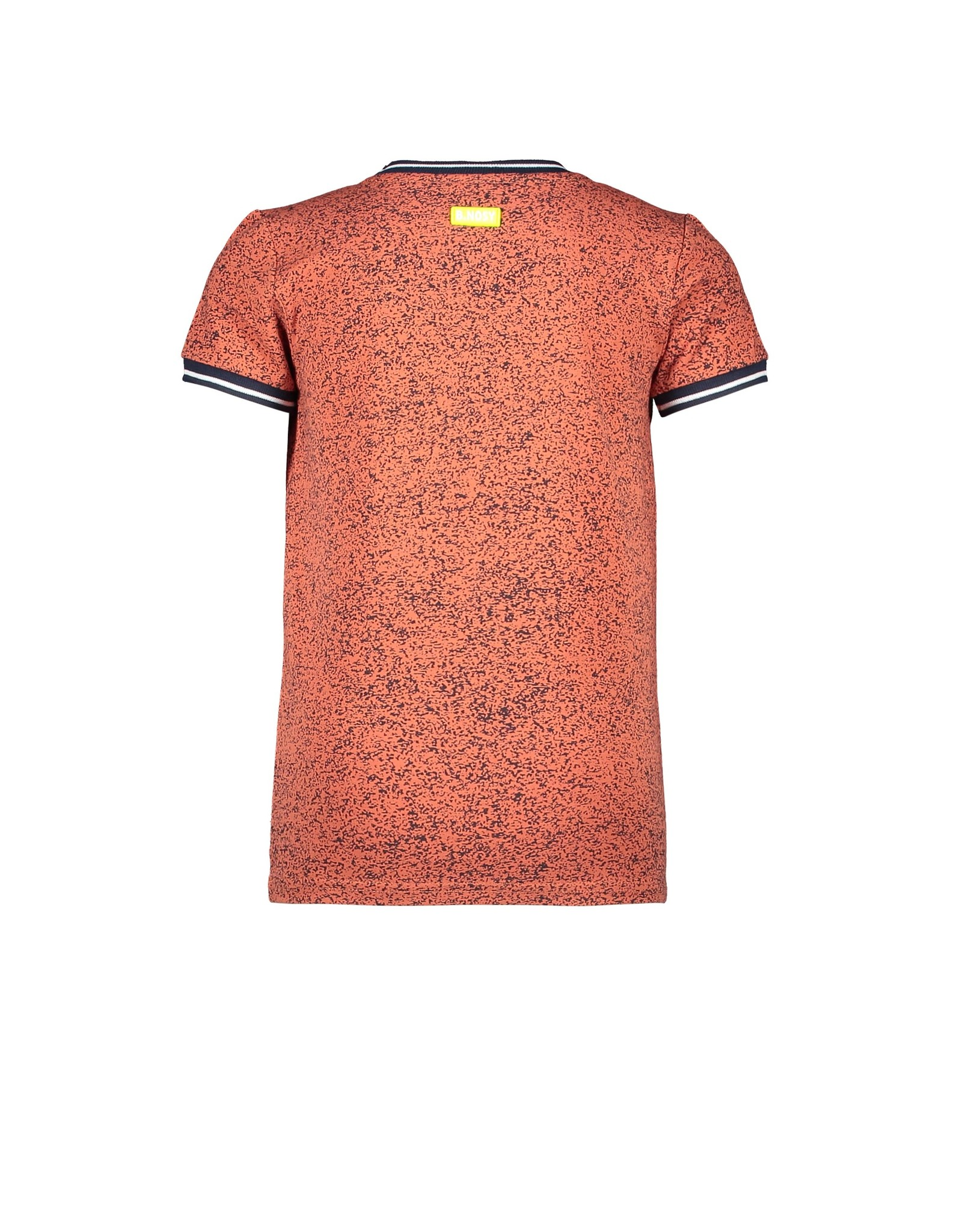 B.Nosy Boys ss shirt with allover melee print